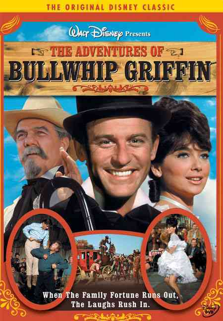 ADVENTURES OF BULLWHIP GRIFFIN BY MCDOWALL,RODDY (DVD)