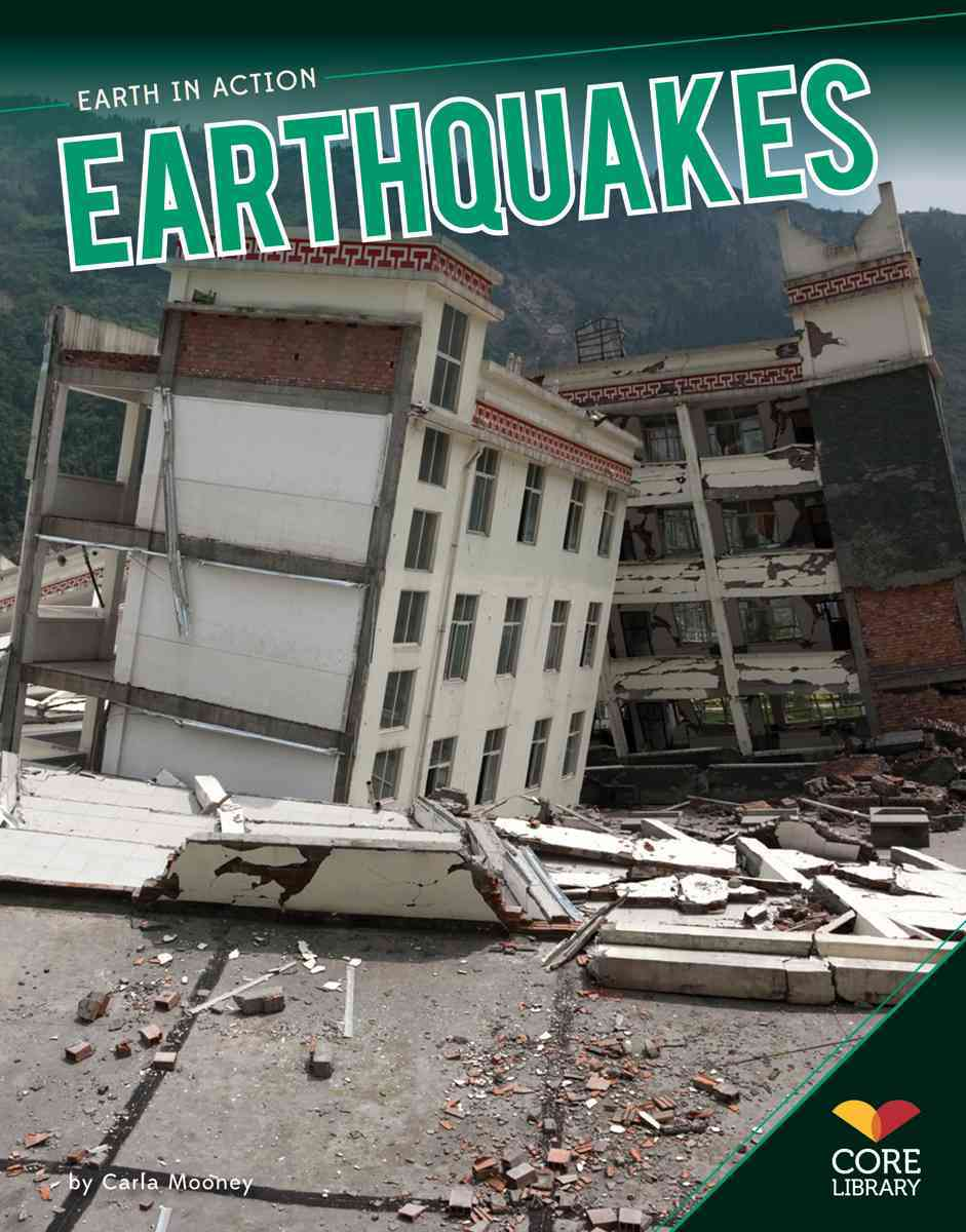 Earthquakes By Mooney, Carla